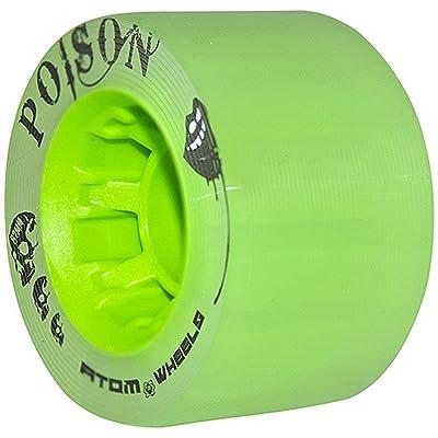 Atom Poison Wheels : Wheels For Skates : Sports & Outdoors