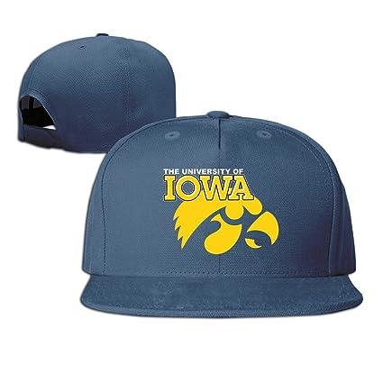 XCarmen Unisex Iowa Hawkeyes Logo Gorra de béisbol Black Marina