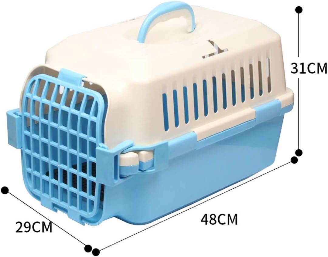 peque/ños Animales Apto para Perros Aprobado para Mascotas Transport/ín para Mascotas Gatos para Perros WOT I Bolsa de Viaje transportador de Gatos con Airline