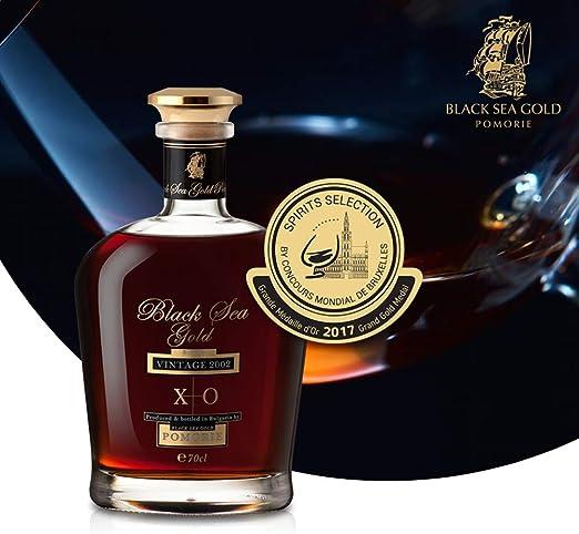 Black Sea Gold XO Brandy, Vintage 2002 0,7l 15 Jahre gelagert ...