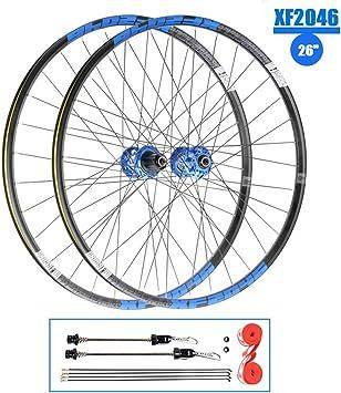 TianyiTrade MTB Rueda 26 Pulgadas Juego de Ruedas Bicicleta Doble ...
