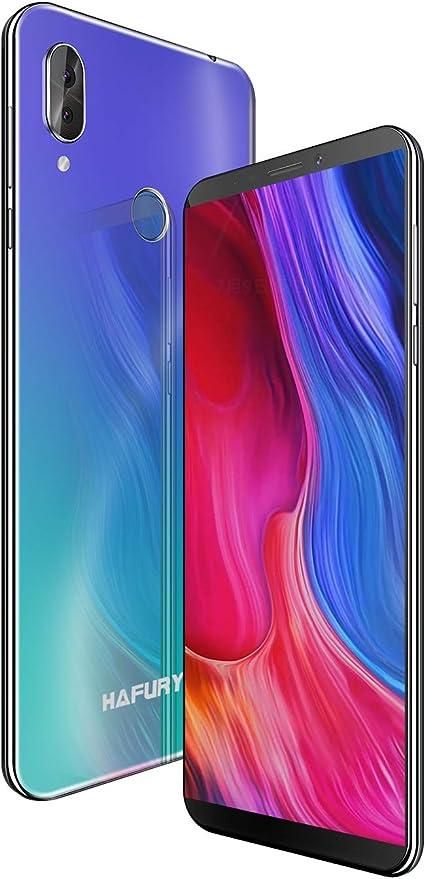 HAFURY NOTE 10 4G Android 9 Dual Sim Smartphone Libre Desbloqueado, pantalla 5.93 inch FHD con batería de 4000Mah, 4GB RAM+32GB ROM, ampliable hasta 128 GB, teléfono móvil doble cámara 8MP+16MP,Aurora: Amazon.es: