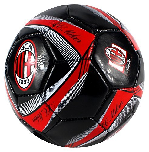 (AC Milan Classic Soccer Ball - Size 2 Practice)