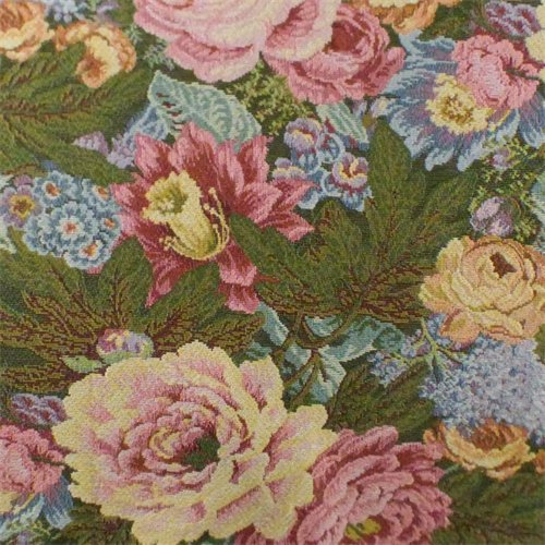 (Multi Designer Floral Tapestry Home Decorating Fabric, Fabric by The Yard)