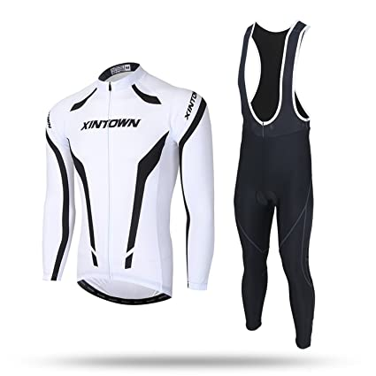 Image Unavailable. Image not available for. Color  JINZFJG-SX Cycling  Clothing Set Pro Long Sleeve Tops Spring Autumn Cycling Jerseys Mens MTB dbdf66ffb