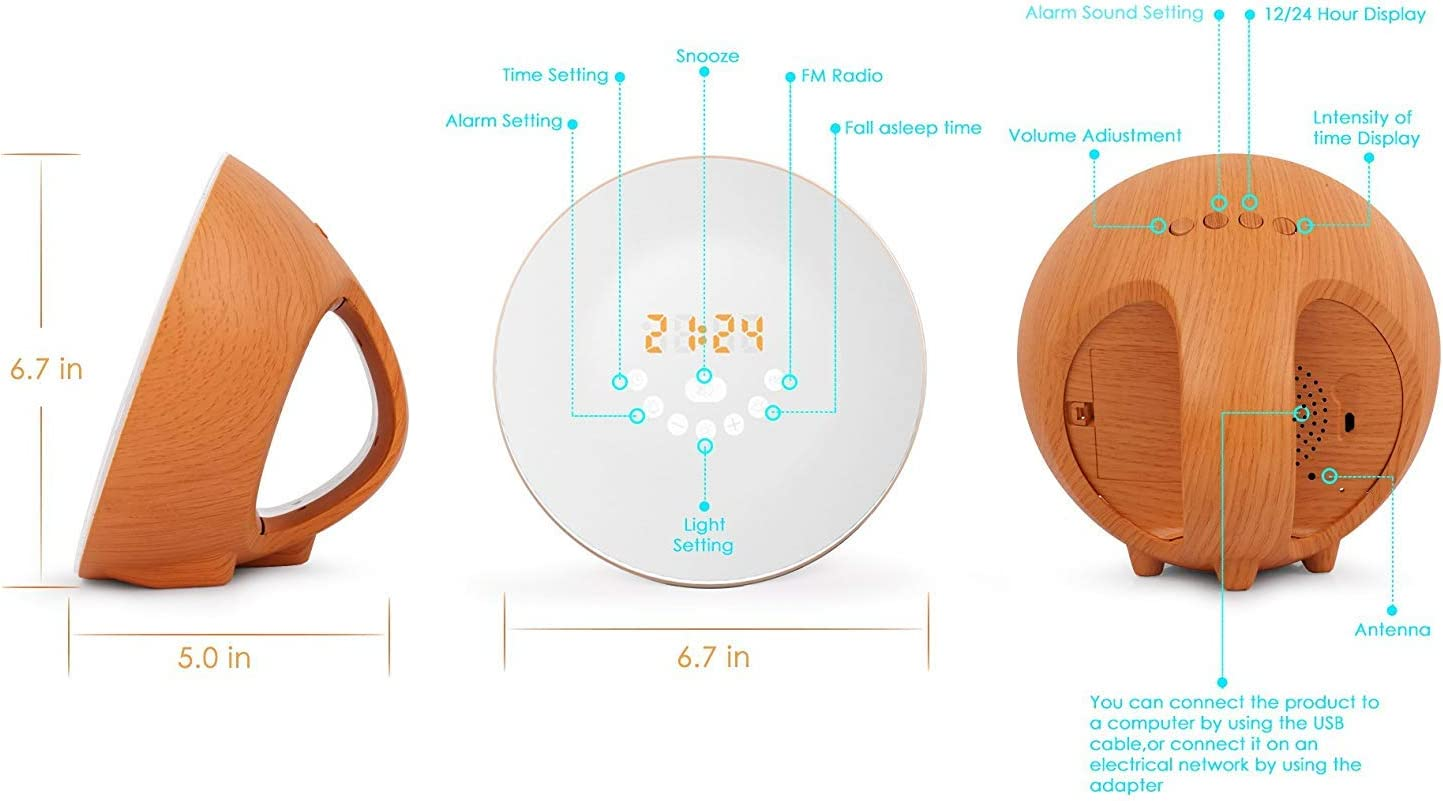 Wireless & Streaming Audio Electronics 6 Natural Sound and Snooze ...