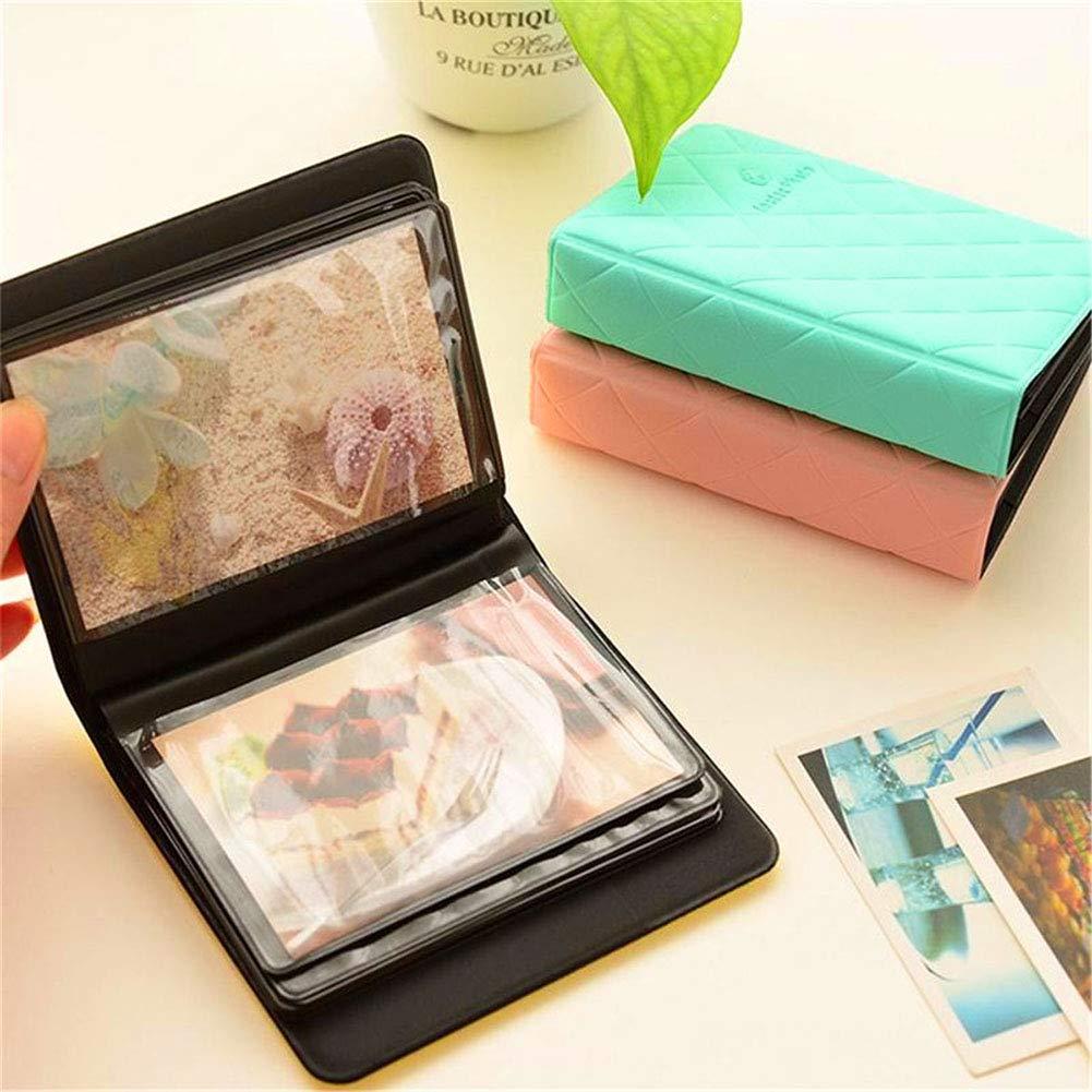 Blu PVC famiglia matrimoni baby shower da viaggio viaggi fatto a mano Album fotografico con 36 tasche LjQQJDz per anniversari per album fotografici Polaroid Fujifilm Instax Mini