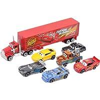 مجموعة العاب السيارات الفاخرة المكونة من 7 قطع - افكار هدايا للاطفال في عيد الميلاد
