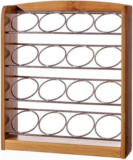 Porta cápsulas café Dolce Gusto de bambú y Metal, Hogar y Mas ...