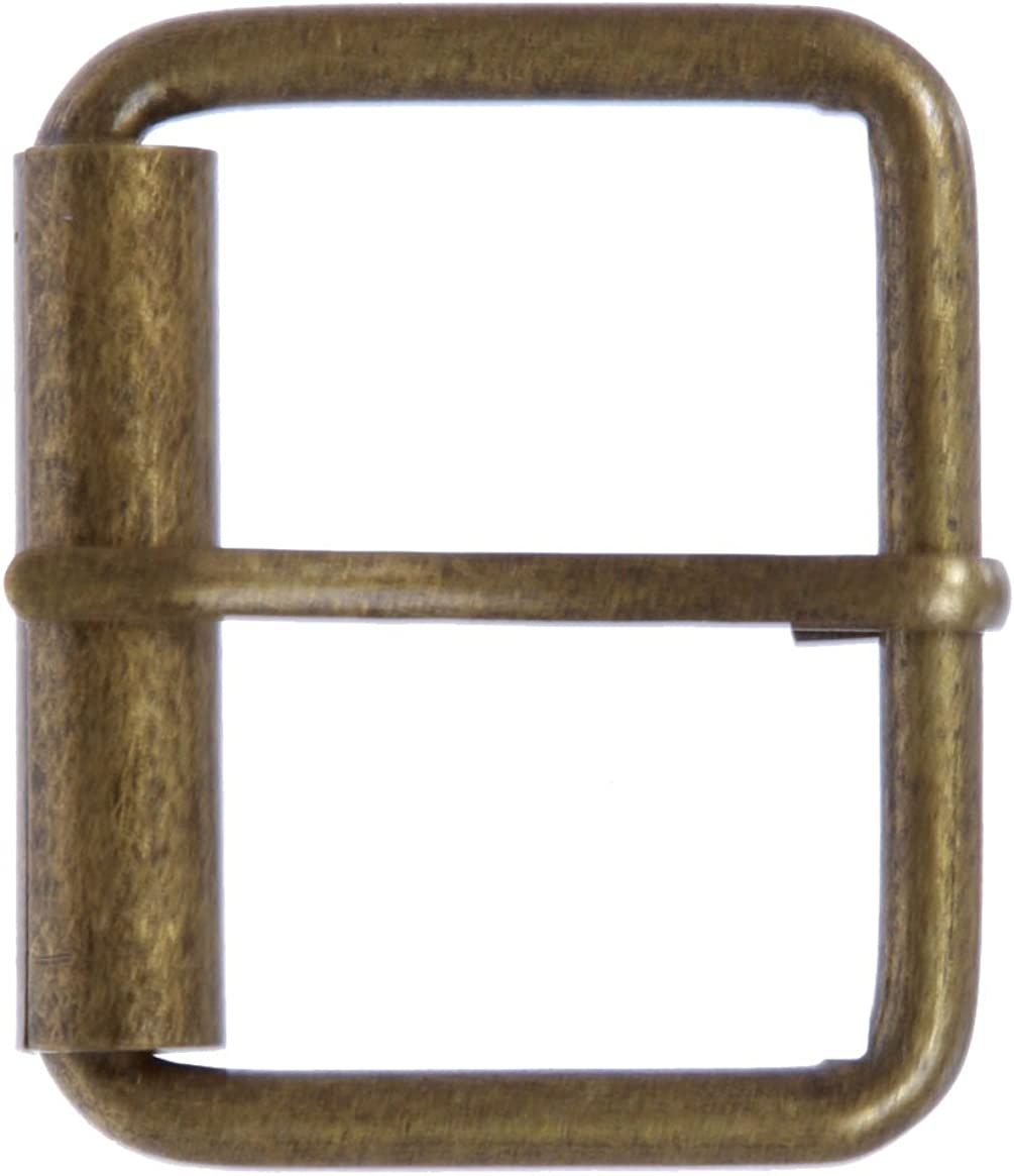 """BS 20 SOLID BRASS  1.75/"""" 45 mm SINGLE ROLLER BELT BUCKLE Leather craft"""