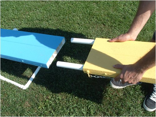 Mini Travel Teeter (Dog Agility See-saw) by Affordable Agility, Inc.