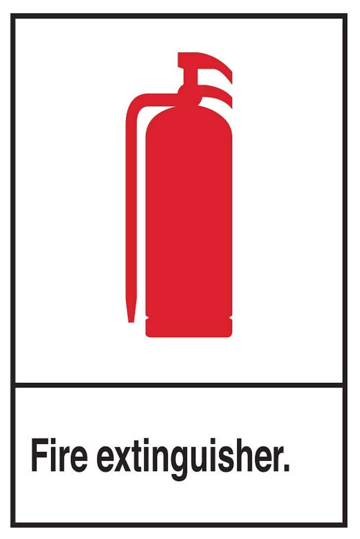 ZING 1901 Señal de seguridad Zing, extintor de fuego con ...