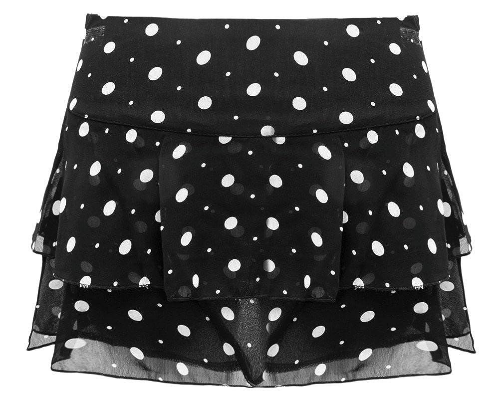 Envy Boutique - diseño de Lunares, Volantes Mini Falda Corta para ...