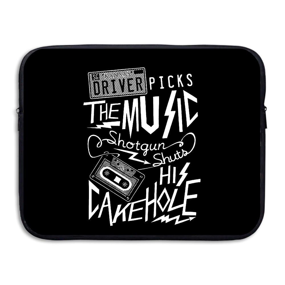 Summer Moon Fire Supernatural Driver Picks The Music Briefcase Handbag Case Cover For 13-15 Inch Laptop, Notebook, MacBook Air/Pro