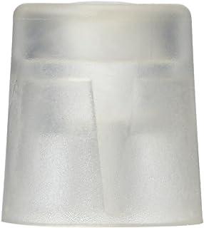 HSI fermaporta, in plastica trasparente 27x 30mm, 6pz, 664077.0