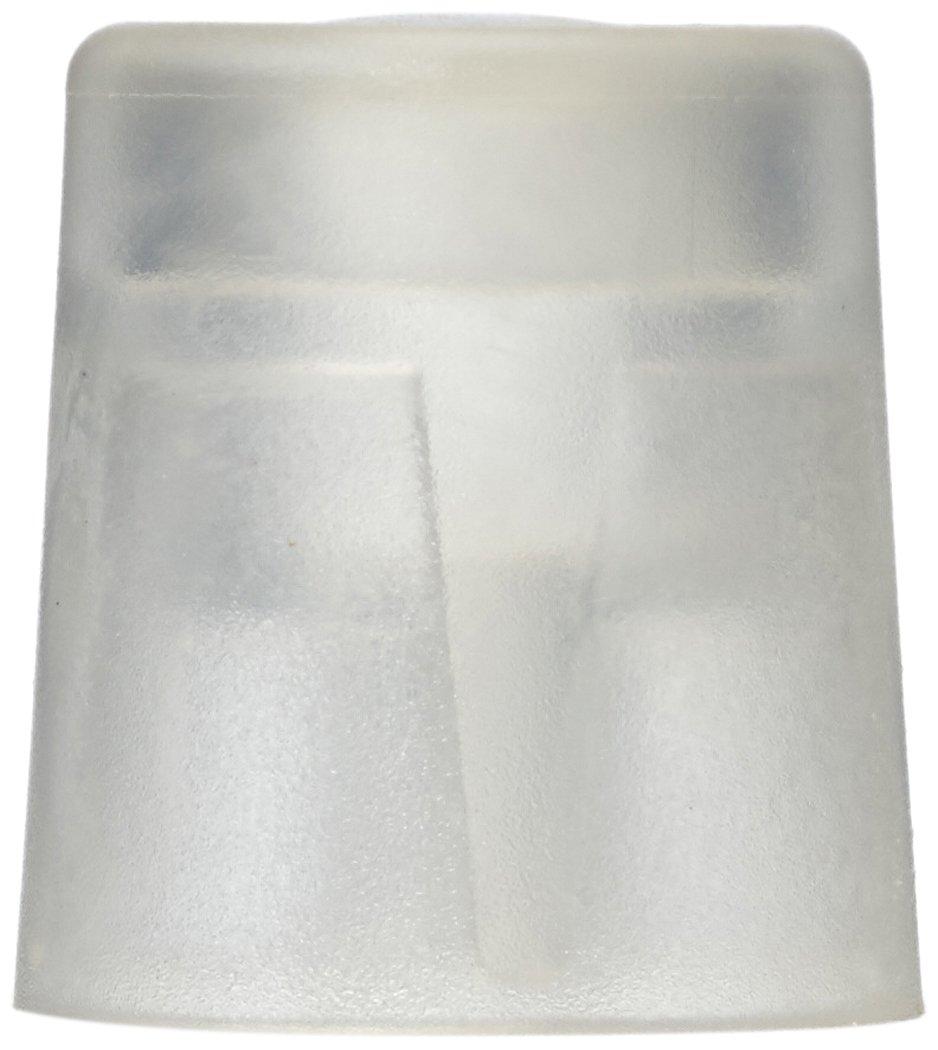 HSI Butoir de porte en plastique transparent 27 x 30 mm, 6 Piè ces, 664077.0 6Pièces