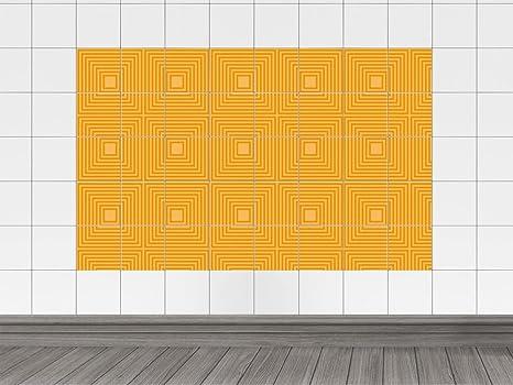 Piastrelle immagini piastrelle adesivo per cucina quadrati linee