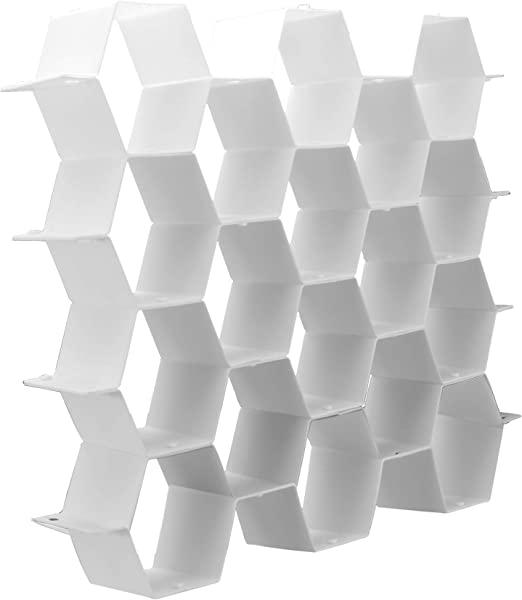 Divisor de cajones de nido de abeja | Organizador de calcetines ...