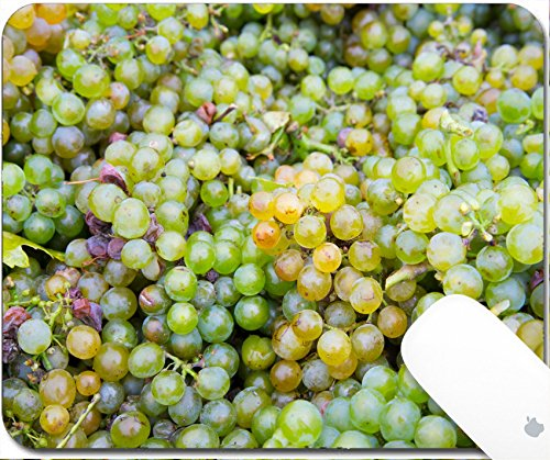 Luxlady Gaming Mousepad 9.25in X 7.25in IMAGE: 24225312 Mature fresh grapes from the harvest