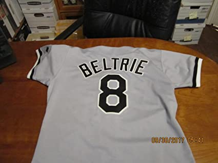 more photos 334ec df934 1992 Beltrie chicago White Sox Jersey #8 set #2 team issued ...