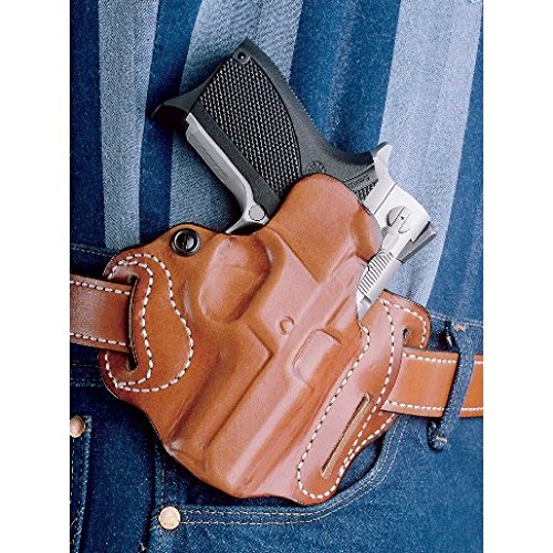 DeSantis Speed Scabbard Holster fits 4-Inch Colt Python, Trooper, Right Hand, Tan
