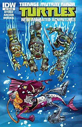 Teenage Mutant Ninja Turtles: New Animated Adventures #5