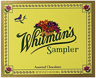 Whitman's Sampler Assorted Chocolate, 24-Ounce Box from Whitman's