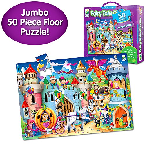 The Learning Journey Jumbo Floor Puzzles, Fairy Tale Castle