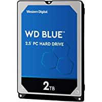 Western Digital WD Blue Mobile 2TB HDD 7mm 5400Rpm SATA 6Gb/s Serial ATA 128MB Cache 6,4cm 2,5Zoll RoHS Compliant internal Bulk