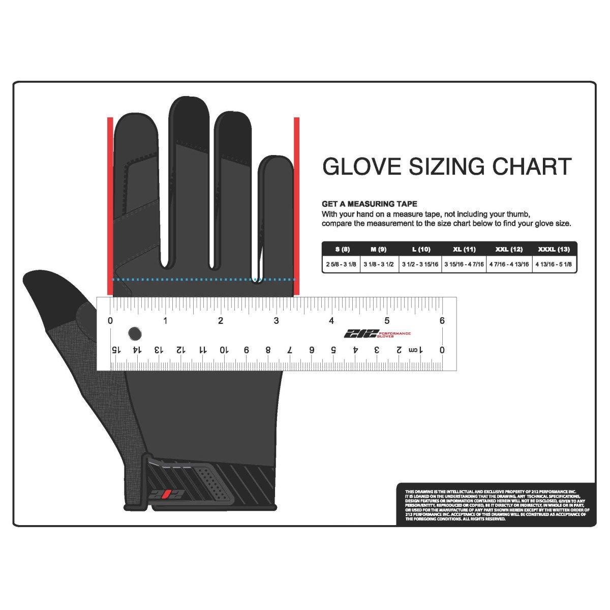 Green 212 Performance Gloves MCG-BL77-011 General Utility Mechanic Gloves X-Large