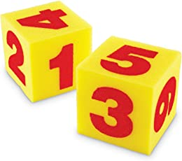 Learning Resources Cubos blandos gigantes - Números