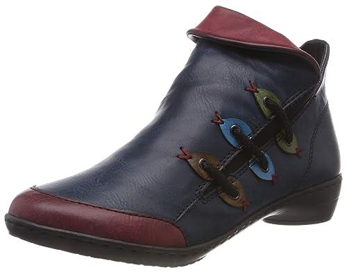 Rieker Damen Stiefeletten Y8650, Frauen Chelsea Boots