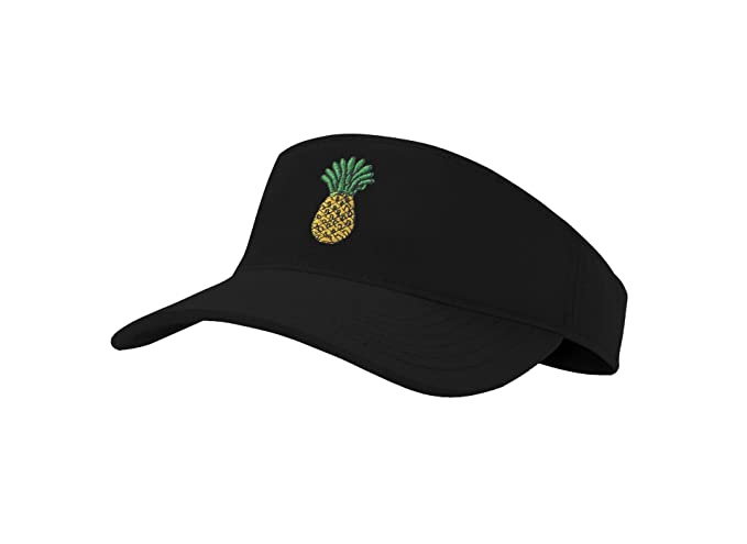 b793c4c27 Sun Pineapple Visor Hat Classic Unisex 100% Cotton Cool Sporting Visor with  Small Embroidery -