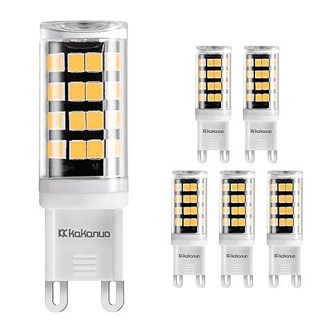 G9 LED BULB Kakanuo 3W Equivalent 40W Warm White 3000K 400Lumens ...