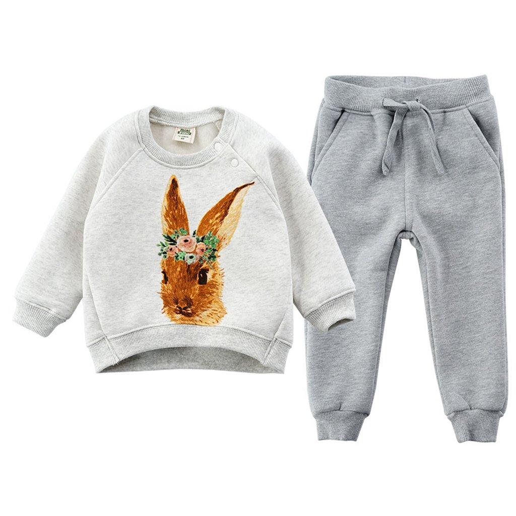Vine Felpe per Bambini Vestiti Casuali dei Bambini Abbigliamento Prima Infanzia Vello Manica Lunga Tops + Pantaloni Vine Trading Co. Ltd C160815TZ00101V