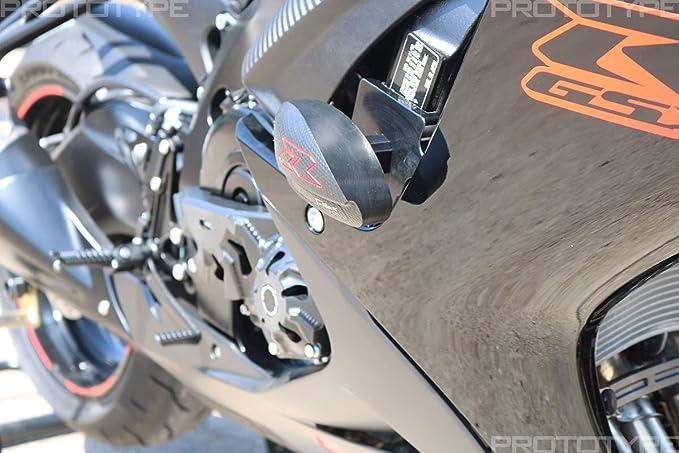 T-Rex 2006-2010 Suzuki GSX-R600 GSX-R750 No Cut Frame Front Axle Slider Spools