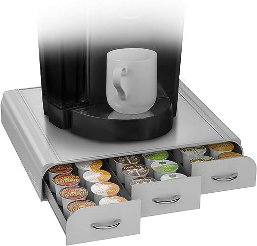 Mind Reader CAP36T-BLK Hero/' Coffee Pod Drawer Storage K-Cup Dolce Gusto CBTL V