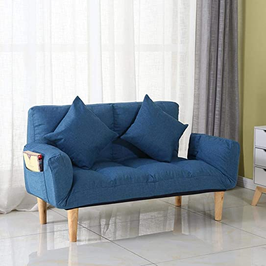 Ship from US Sofas Couches,Adjustable Modern Style Lazy Folding Floor Sofa