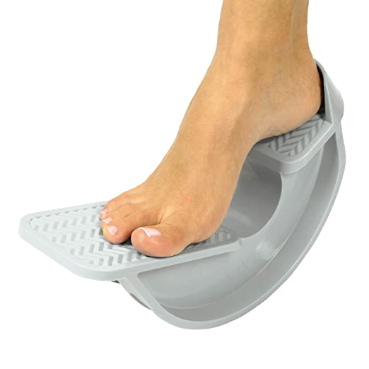 Foot Rocker by Vive - Best Foot Stretcher for Plantar Fasciitis Pain & Strained Calf Muscle Streches - Calf Stretcher Improves Flexibility & Tightness