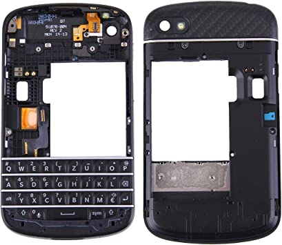 Repuestos para Smartphone 3 en 1 para BlackBerry Q10 (Teclado + ...