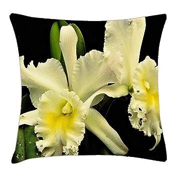 Amazon.com: HFYZT - Funda de almohada con diseño de flores ...