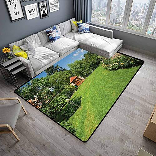 Garden,Floor Mats for Living Room 64