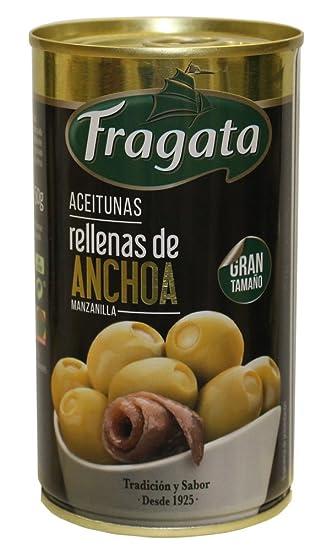 Fragata Aceitunas Rellenas de Anchoa - 6 latas