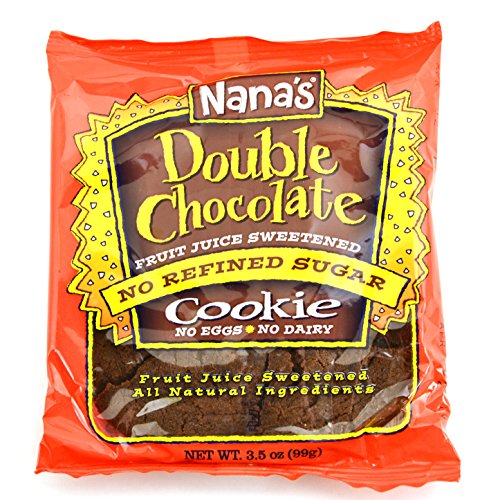 Nana's Double Chocolate Cookies, 3.5-Ounce Packages (Pack of -