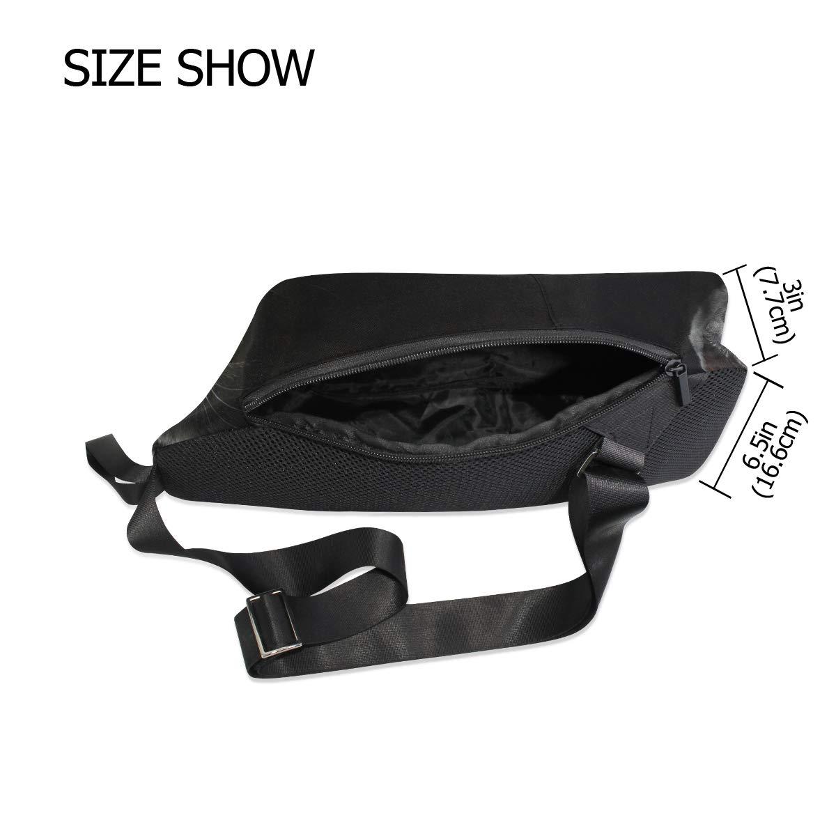 AHOMY Cat Messenger Bag Small Travel School Sling Bag Crossbody Bag