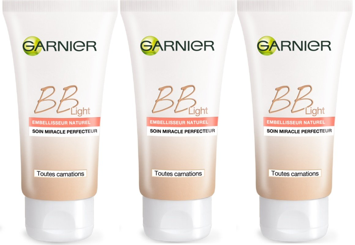 Garnier, Skin Naturals, BB Cream Light, 50 ml, 3 pz.