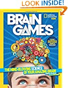 #5: National Geographic Kids Brain Games: The Mind-Blowing Science of Your Amazing Brain