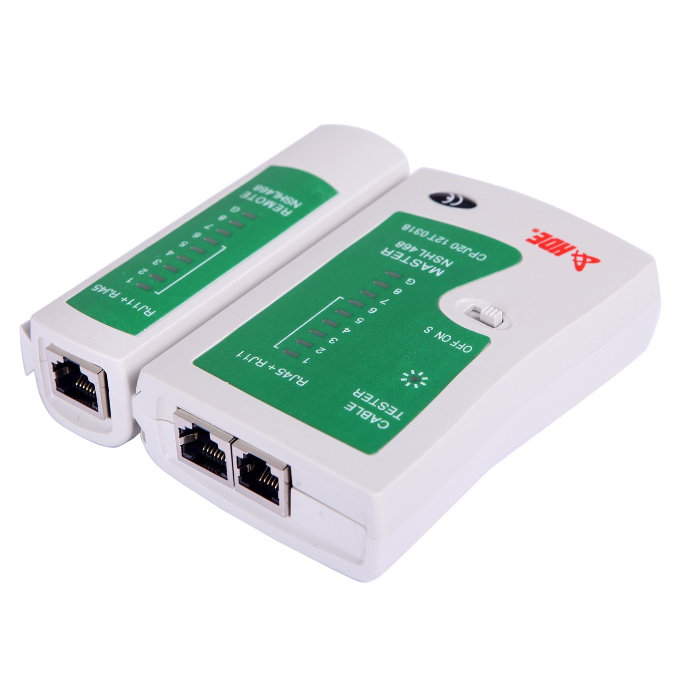 Hde Rj45 Rj11 Rj12 Cat5 Cat6 Utp Network Cable Tester To Ethernet Wiring Diagram For Lan Phone Wire Test Tool Sports Outdoors