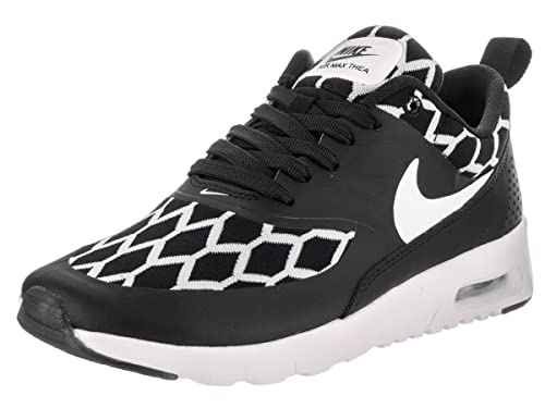 b2405b29466d Nike Kids Air Max Thea SE (GS) Black White Black Running Shoe