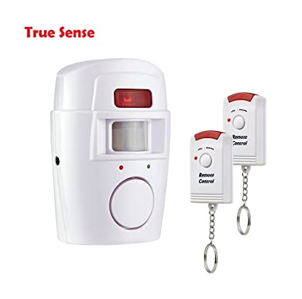 True Sense Wireless Burglar Alarm Anti Theft Wireless PIR Motion Sensor for Home House Office Security Alarm